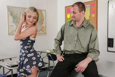 Diet live darling with little bazookas Dakota Skye gains drilled in classroom
