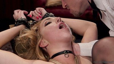 Abella, having done a consummate job with zoe, is fed soreness and intense anal fuck