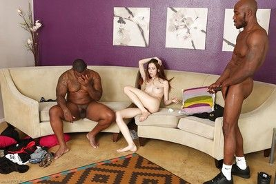Interracial groupsex makes public lean orgy fan Jenna Justine