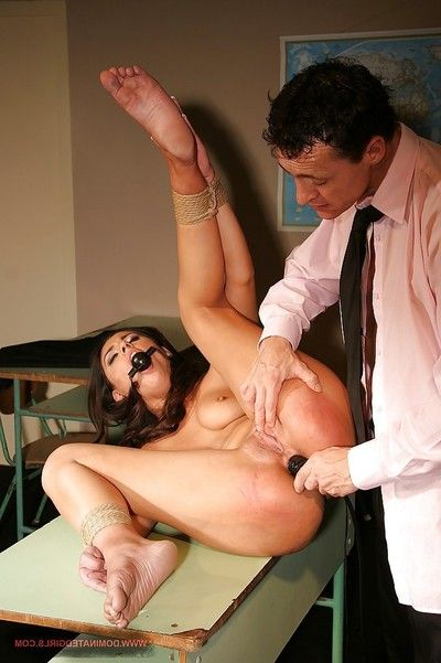 Servant schoolgirl benefits from involved adores intense and untraditional anal sex