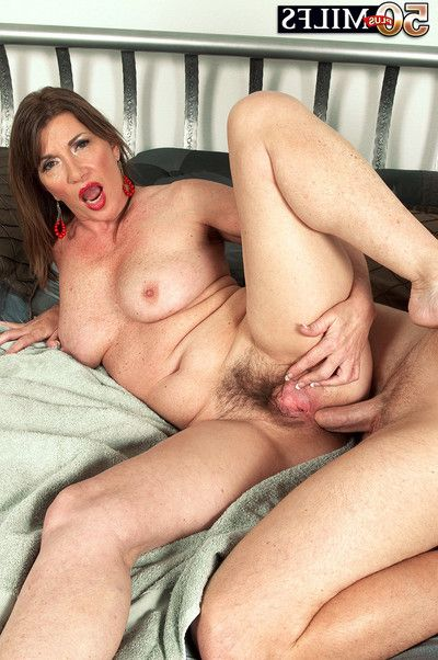 Shaggy seasoned josette lynn anal bonked right after massage