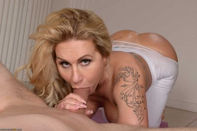 Wild milf thick a-hole looks terrific as this babe acquires pounded