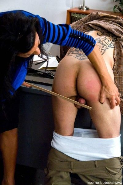 Ts ariel everitts drills her student in the booty in brand