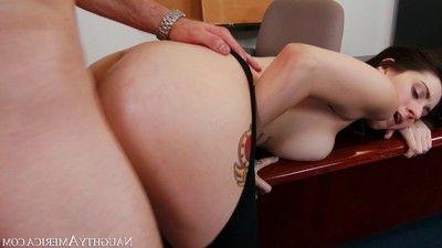 Luna c kitsuen takes an anal orifice at put into