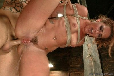 Savannah fox in bondage,anal sex,rough copulation and squirting orgasms