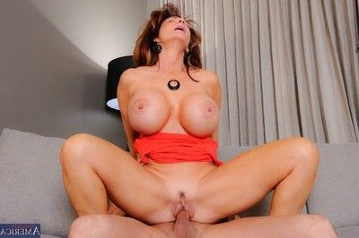 Sexually excited titted milf getting astonishingly fulfillment