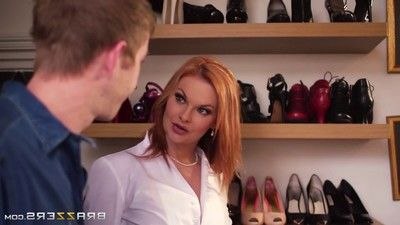 Boobsy milf tarra white into her snakes vast and heavy