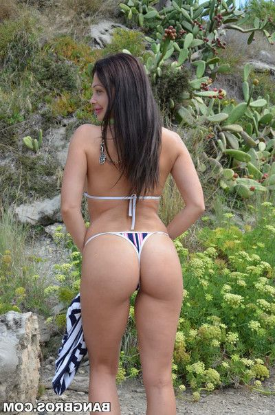 Aletta ocean receives drilled up her arse in a cave