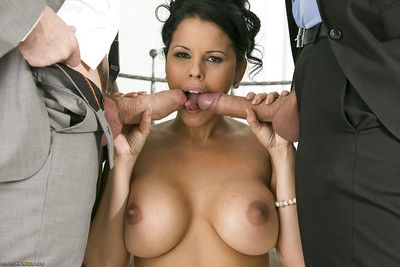 Latin chico courtesan has some two fucking one joy and purchases her face glazed with goo