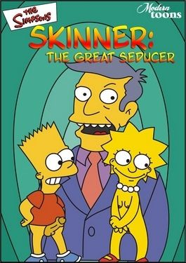 Simpsons- Skinner Estimable Wolf