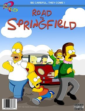 Simpsons- Shortly before Springfield