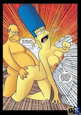 Simpsons- Wiggum's turned to Homer