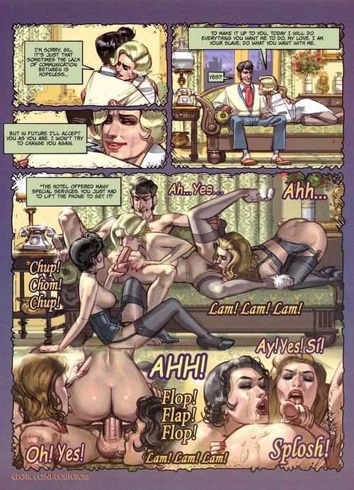Hot of age comics with immoral gal blowing shlong