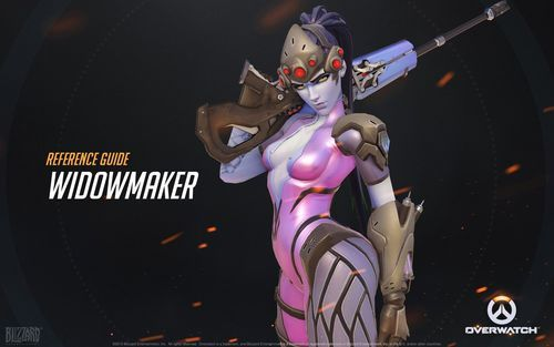 Overwatch Valid Character Artisticness Reference Kits - part 3