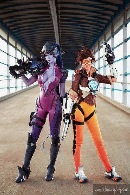 [Incosplay] Widowmaker with an increment of Tracer (Overwatch)