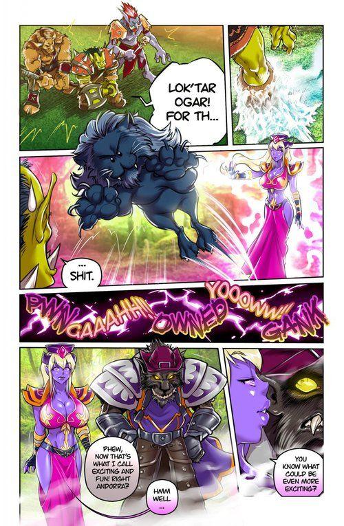 [Melkor (Romulo Mancin)] Make Love, Sob Warcraft (World be proper of Warcraft) [WIP]