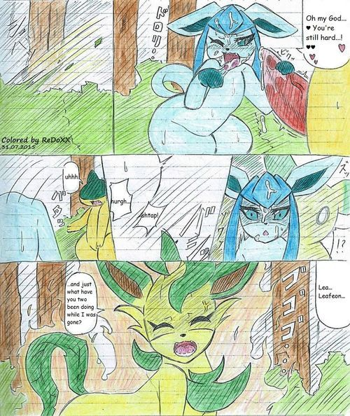 Leafeon X Quilava (english) - part 2