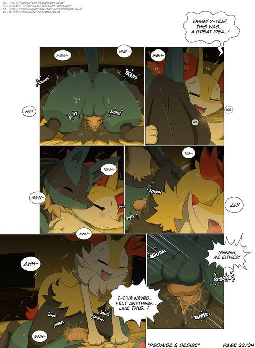 [Winick Lim] Promise & Desire (Pokemon)