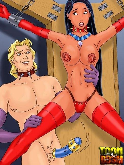 Penelope pitstop popeye bondage