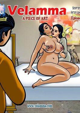 Velamma 62- A Moment of Art