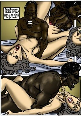 Motel- illustrated interracial