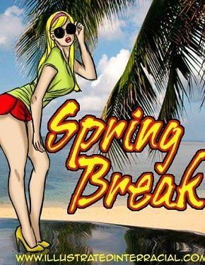 Do a bunk Break- illustrated interracial