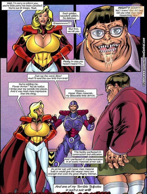 Superheroine Central- Mighty interject - part 2