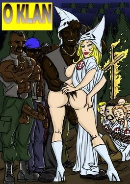 O Klan Fuck- illustrated interracial