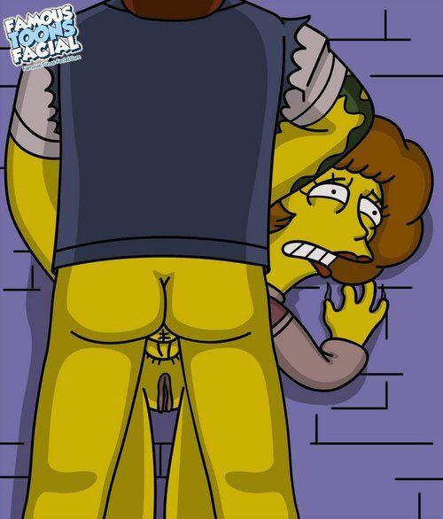 Simpsons - Flake down fucks Maude