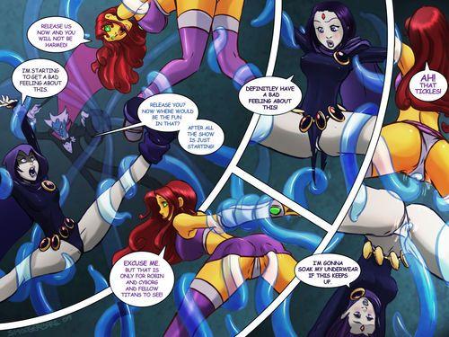 [Shoogerbare & Slim] Tentacled Titans (Teen Titans)