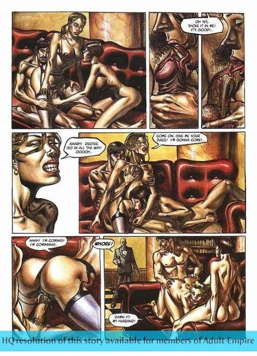 Porn comics near hot non-specific mammal fucked hard
