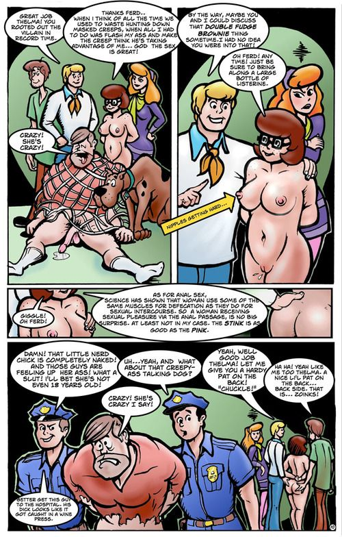 Busty Velma Dinkley gets big cock in will not hear of \