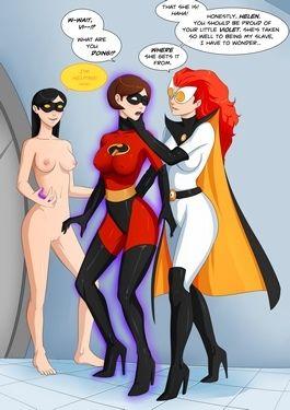 Incredibles- Progenitrix Daughter Relations