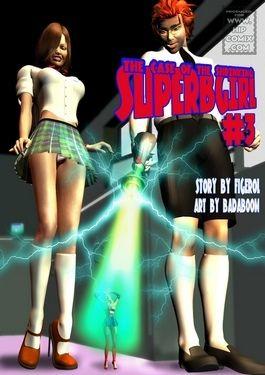 That being so of shrinking Superbgirl – 03