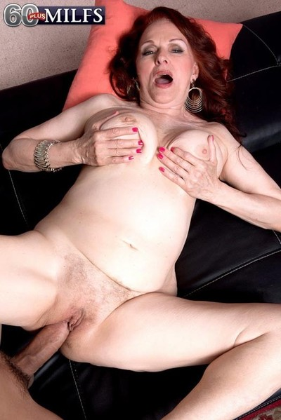 Milf katherine merlot shafting will not hear of superannuated wrinkled pussy