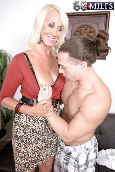 Blistering granny Madison Milstar reveals saggy chest vanguard hardcore making love