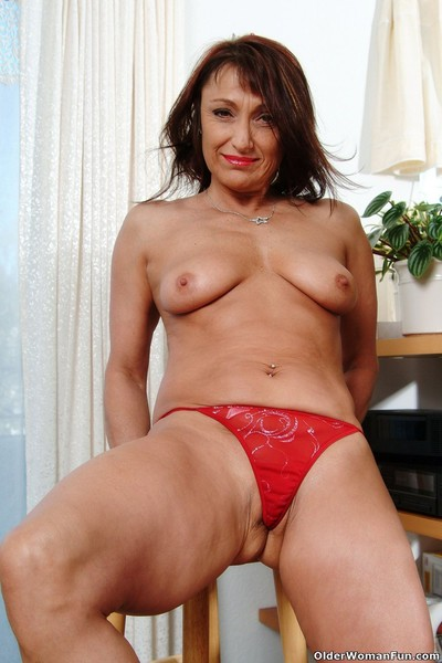 Glum milf jillian strips lacking