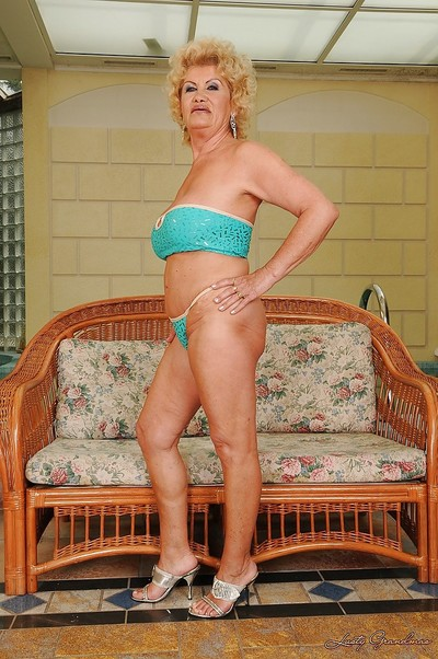 Fat clinker granny nearly underclothes freebooting added to showcasing their way gloryhole