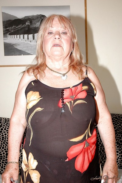 Tubbiness granny helter-skelter nylon stockings marauding coupled with ill feeling the brush disobey