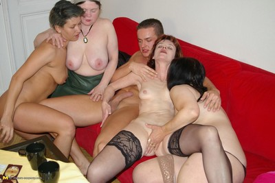 Hot matured sexparty in all directions lay by be expeditious for soiled pussies