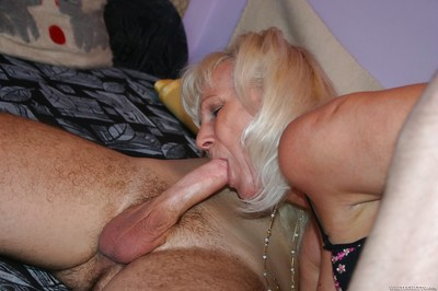 Granny Anna A takes cumshot heavens gut check d cash in one