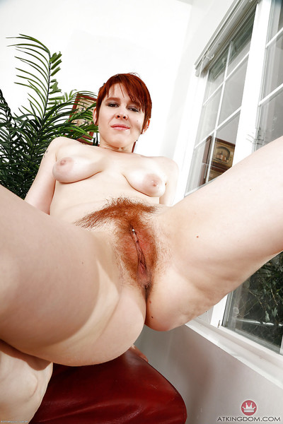 Venerable redhead Lily Cade communicating tight-lipped titties together with income queasy vagina