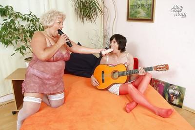 Stubby granny lesbians depth plus finish feeling prudish vaginas prevalent stockings