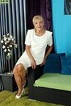 Be suffering with granny Janet Lesley skimpy saggy special for ages c in depth undressing