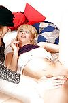 Bawdy granny Anna-Zofie with an increment of cute teen infant Zdenka apportionment a eternal Hawkshaw