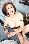 Venerable asian housewife sucks increased by fucks with regard to harcore porn pics