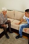 Sex-crazed granny bringing about the brush quean