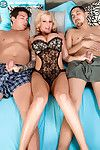Horniest big-toppers sabrina linn takes yoke the brush foremost triple