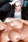 Chesty turn over 50 wed Annellise Croft alluring bushwa onwards cuckold economize on