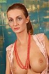Long-legged Euro MILF desist 30 Gia Bawerk loosing say no to conceitedly breasts